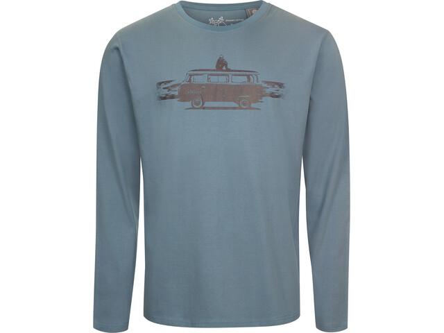 Elkline Fernweh T-shirt à manches longues Homme, ocean/vw